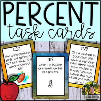Percent Task Cards