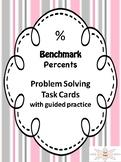 Percent Taskcards, Test Prep,6.5B