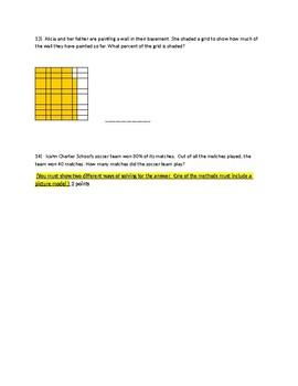 Percent Test/ Quiz