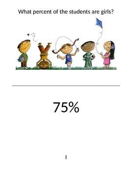 Percent Word Problem Scavenger Hunt