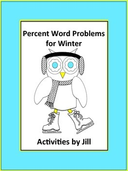 Percent Word Problems for Winter