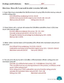 Percent Worksheets Bundle