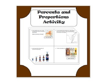 Percent and Proportions Activity