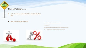 Percent and Proportions PowerPoint