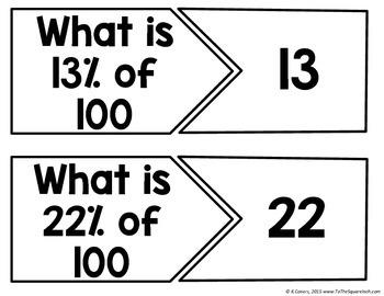 Percent of 100 Center