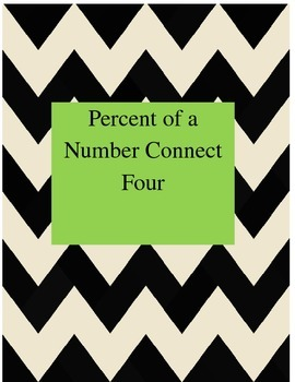 Percent of A Number Connect 4