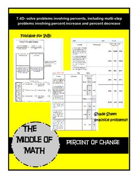 Percent of Change
