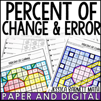 Percent of Change Activity Pack