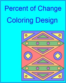 Percent of Change - Coloring Activity