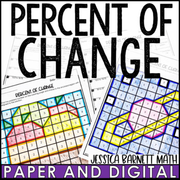 Percent of Change Coloring Page Activity