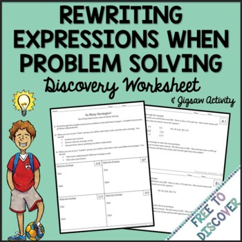 Percent of Change Discovery Worksheet & Jigsaw Activity