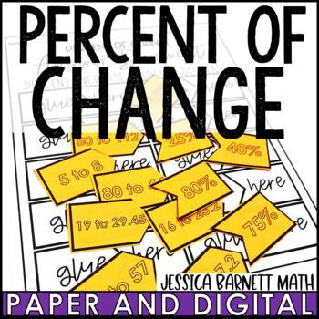 Percent of Change Matching Activity