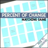 Percent of Change Matching Game