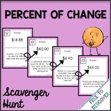 Percent of Change Activity - Scavenger Hunt