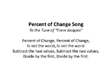 Percent of Change Song