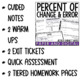Percent of Change and Error Lesson Bundle