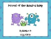 Percent of One Hundred Bump-6.RP.3c