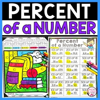 Percent of a Number Activities