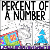 Percent of a Number Activity Pack - Distance Learning