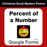 Percent of a Number - Christmas EMOJI Mystery Picture - Go
