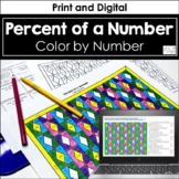 Percent of a Number - Color by Number