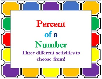 Percent of a Number Game