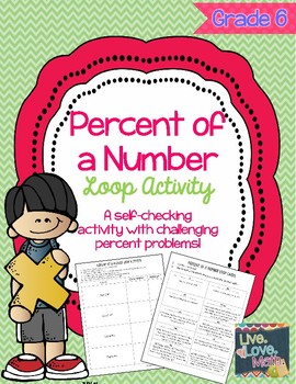 Percent of a Number Loop Activity