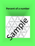 Percent of a Number 1 – Math puzzle