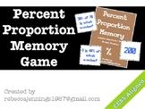 Percent of a Number Memory: Percent Proportions
