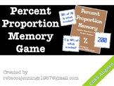 Percent of a Number Memory: Percent Proportions