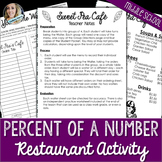 Percent of a Number Cooperative Learning Activity