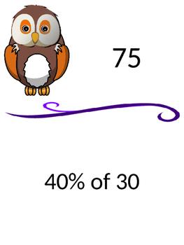 Percent of a Number Scavenger Hunt