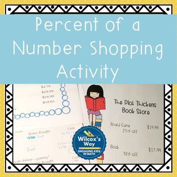 Percent of a Number Shopping Activity