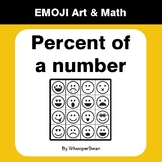 Percent of a number - Emoji Art & Math - Draw by Number |