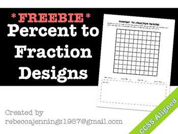 Percent to Fraction Designs