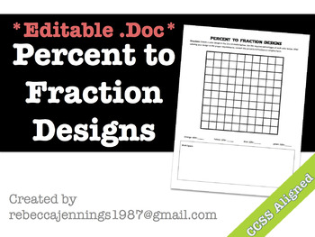 Percent to Fraction Designs Doc
