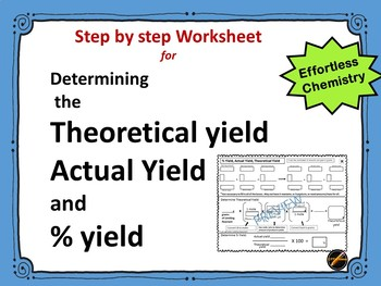 Percent Yield Worksheets & Teaching Resources | Teachers Pay