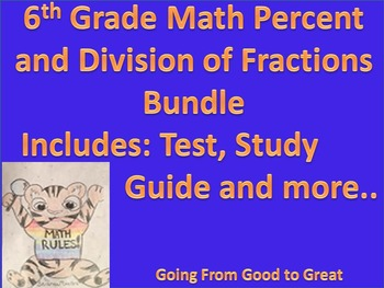 Percent/Division of Fractions Bundle