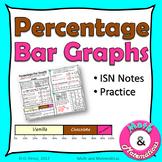 Percentage Bar Graphs - Percent Bar Graphs Practice - ISN