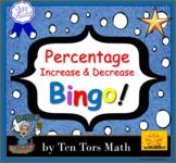 Percentage Increase & Decrease Bingo Game