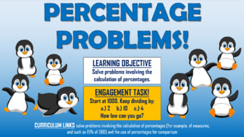 Percentage Problems!