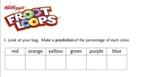Percentage, Ratio, and Graphing Using Froot Loops