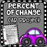 Percentages Car Project - Percent of Change