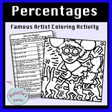 Percentages Coloring Activity