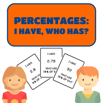 Percentages I Have, Who Has Game