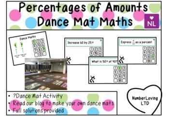 Percentages of Amounts (Dance Mat Maths)
