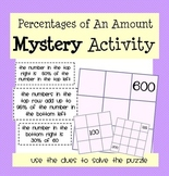 Percentages of an Amount Mystery Activity!