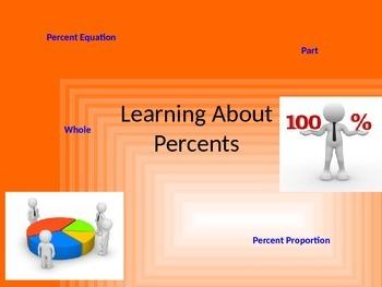 Percents (editable)