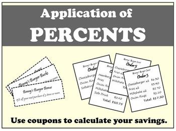 Application of Percents
