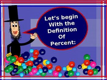 Algebra Power-Point:  Percents